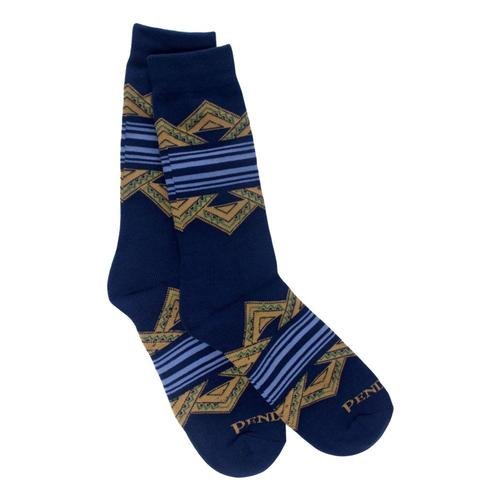 Pendleton American Treasures Crew Socks Blue