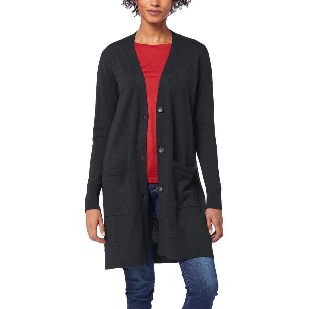 Pendleton Women's Timeless Merino Long Cardigan BLACK_60001