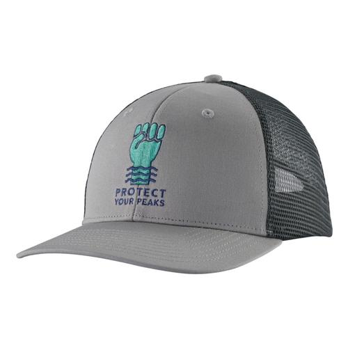 Patagonia Protect Your Peaks Trucker Hat Grey_dftg