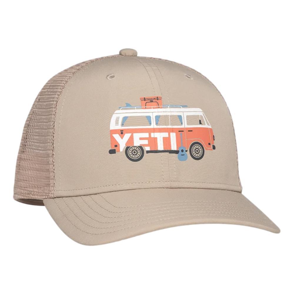 YETI Coastal Camper Trucker Hat TAN