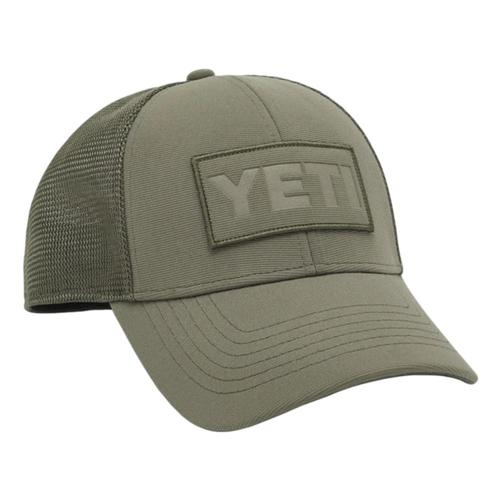 YETI Patch Trucker Hat Olive
