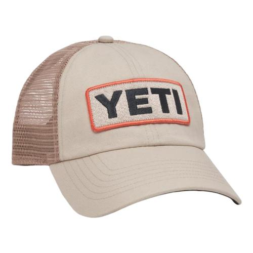 YETI Low-Profile Badge Trucker Hat Tan