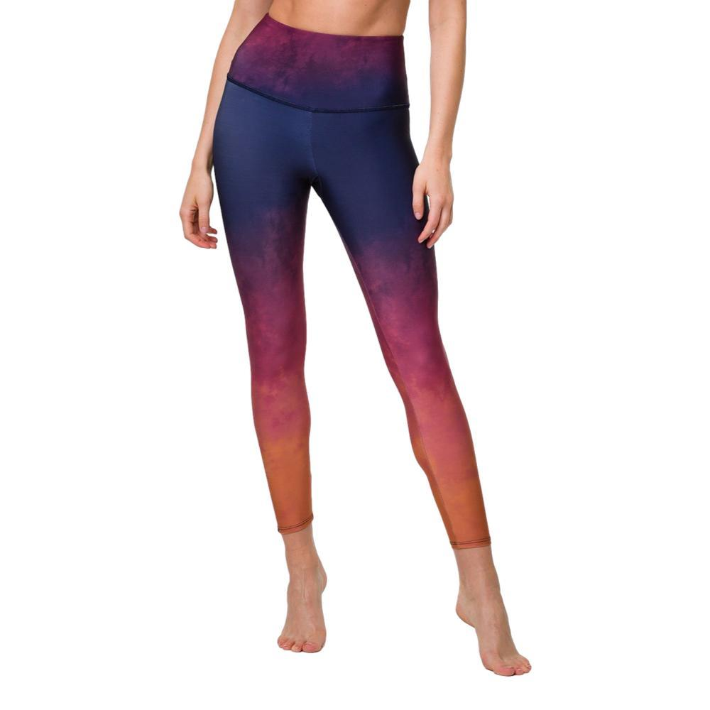 Onzie Women's Graphic High Rise Midi Leggings FIRESTONE