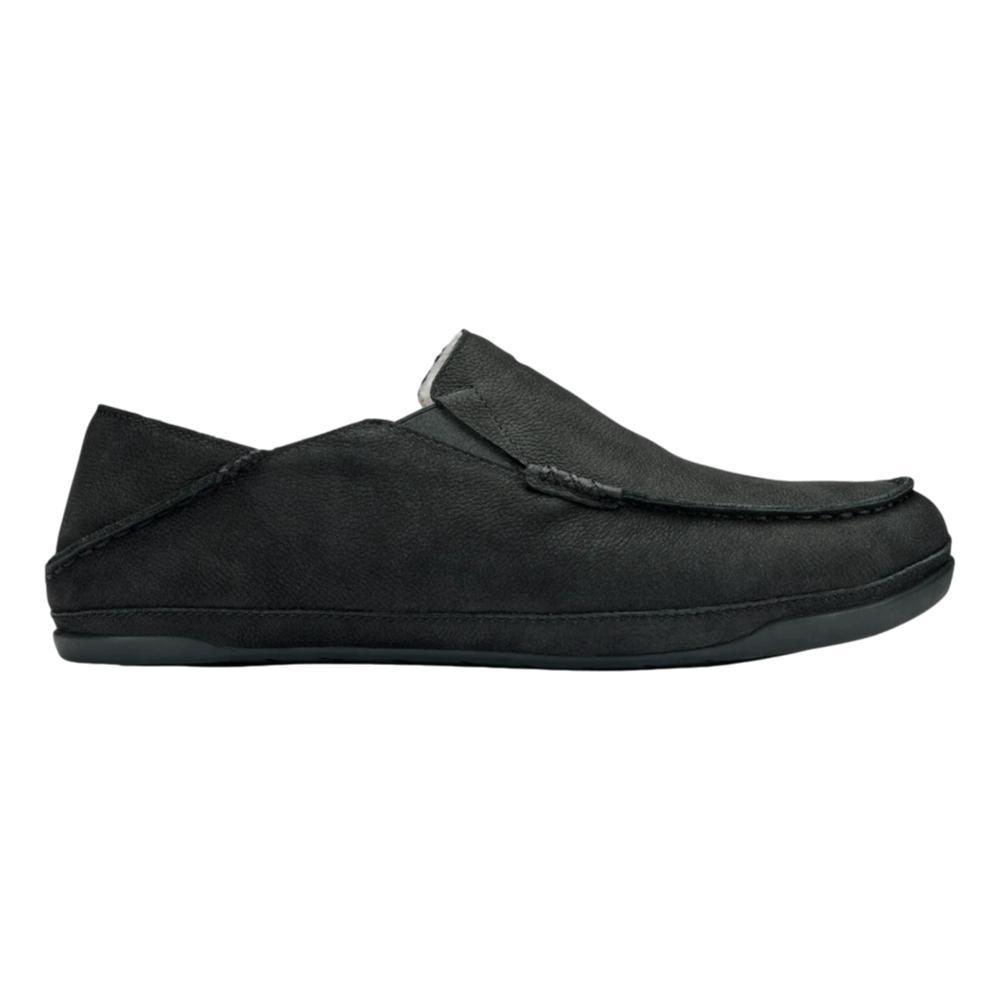 OluKai Men's Kipuka Hulu Slippers BLACK_4040