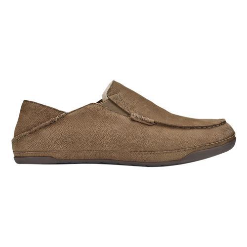 OluKai Men's Kipuka Hulu Slippers Toffee_3333