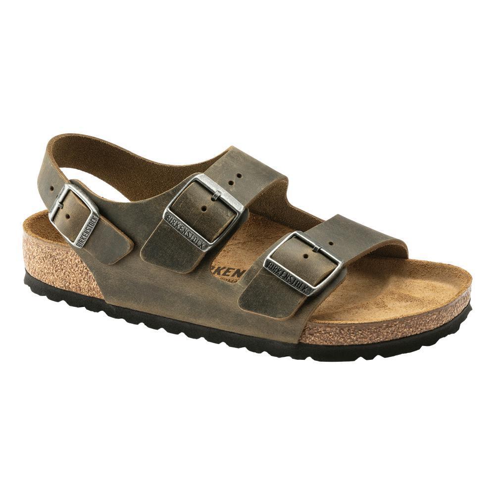 Birkenstock Men's Milano Oiled Leather Sandals - Regular FDKHAK.OL