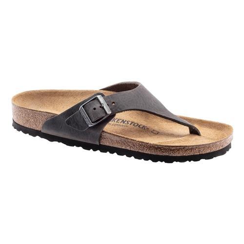 Birkenstock Men's Como Nubuck Leather Sandals - Regular Ciron.Ol