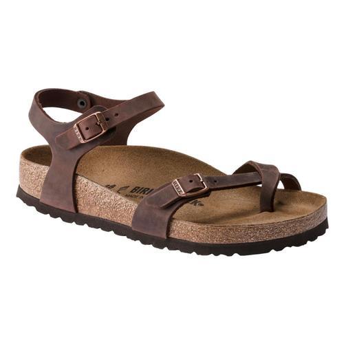 Birkenstock Women's Taorima Oiled Leather Sandals - Narrow Habana.Ol