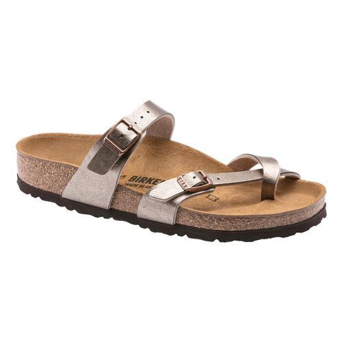 Birkenstock Women's Mayari Birko-Flor Sandals - Regular Grctaup.Brko