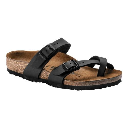 Birkenstock Kids Mayari Birko-Flor Sandals - Narrow Black