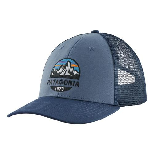 Patagonia Fitz Roy Scope LoPro Trucker Hat Blue_pgbe