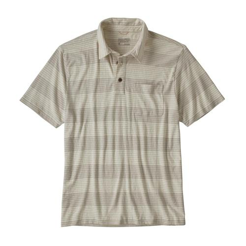 Patagonia Men's Trail Harbor Polo Grey_rogg
