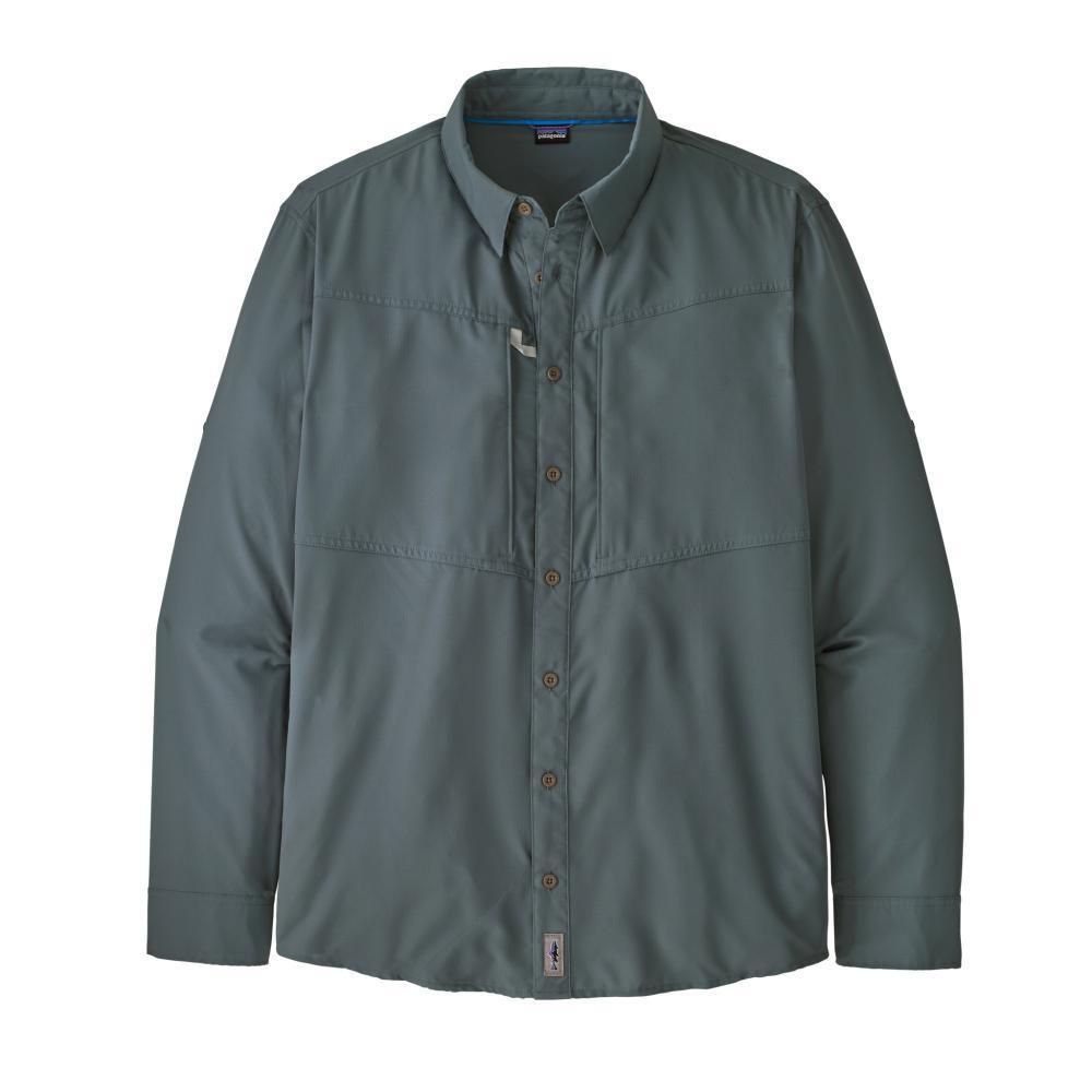 Patagonia Men's Long-Sleeved Sol Patrol Shirt GREY_PLGY