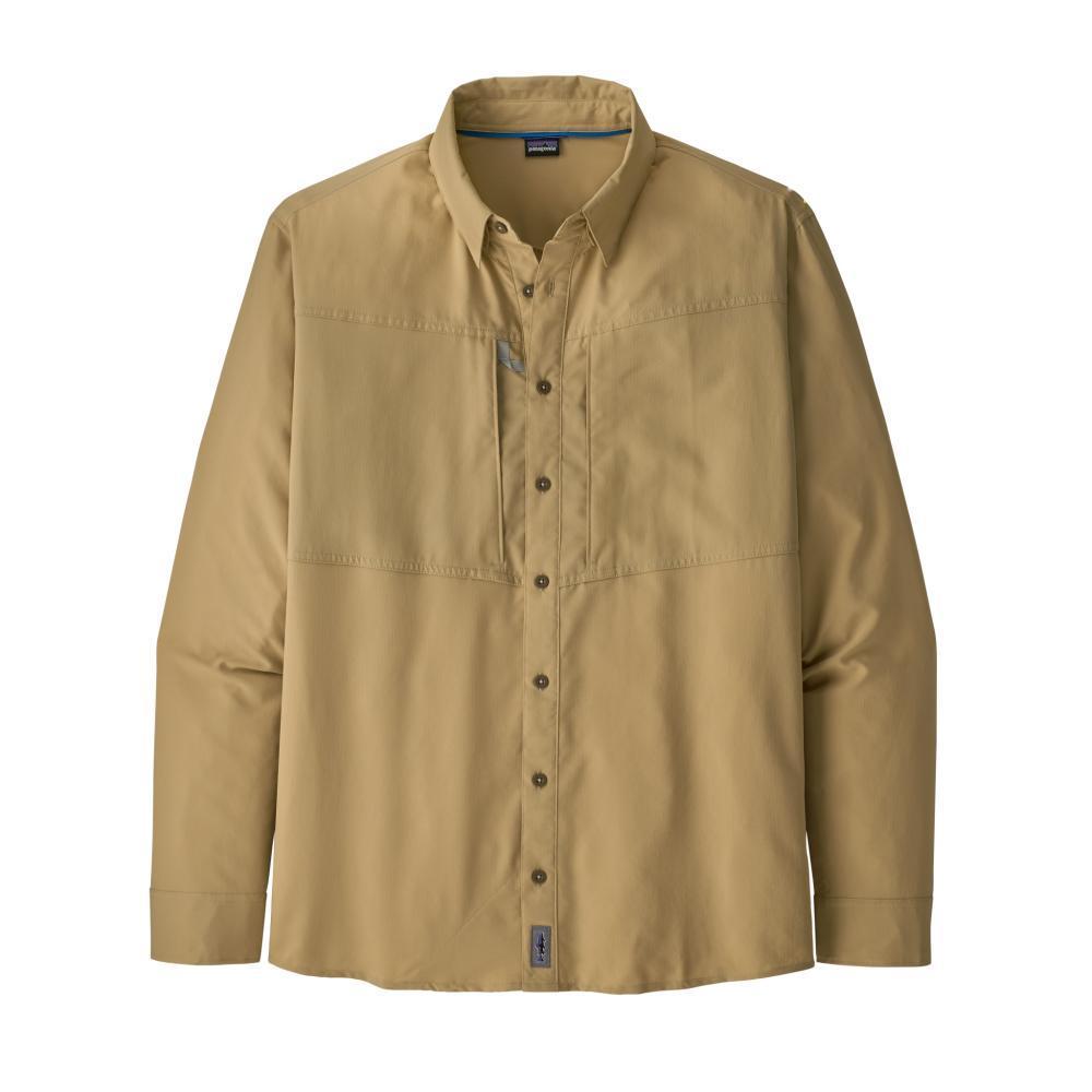Patagonia Men's Long-Sleeved Sol Patrol Shirt TAN_NAUT