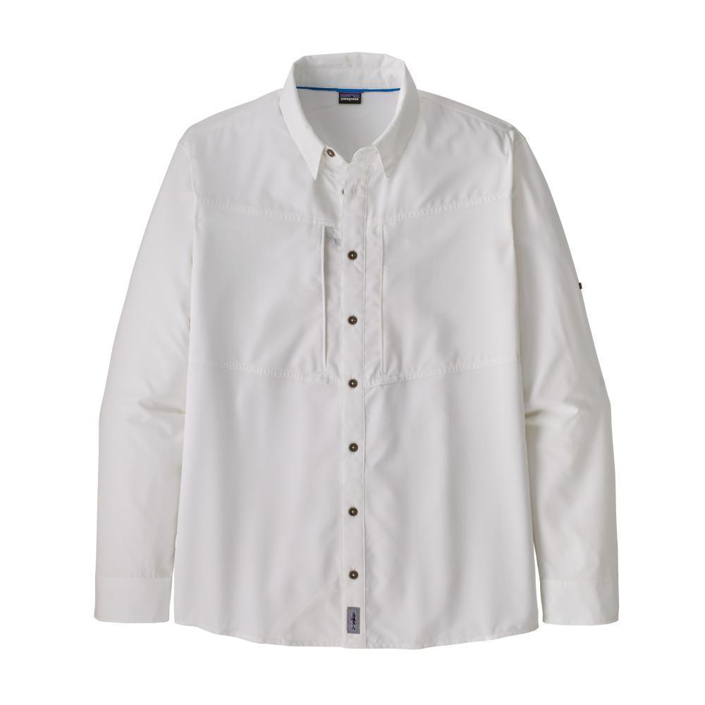 Patagonia Men's Long-Sleeved Sol Patrol Shirt WHITE_WHI