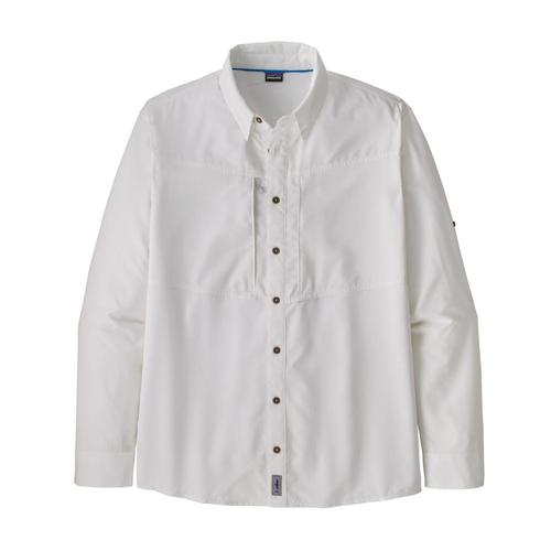 Patagonia Men's Long-Sleeved Sol Patrol Shirt White_whi