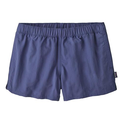 Patagonia Women's Barely Baggies Shorts - 2.5in Blue_cubl