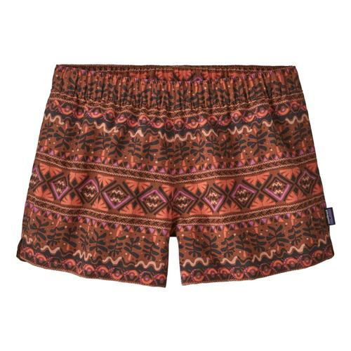Patagonia Women's Barely Baggies Shorts - 2.5in Brown_mheb