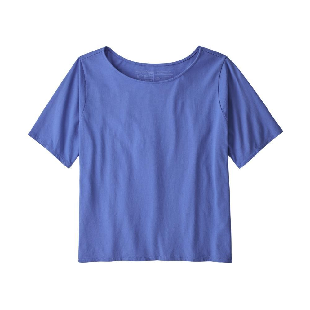 Patagonia Women's Cotton in Conversion Tee FBLUE_FLBL