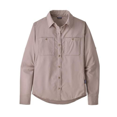 Patagonia Women's Long-Sleeved Self-Guided Hike Shirt Mauve_stym