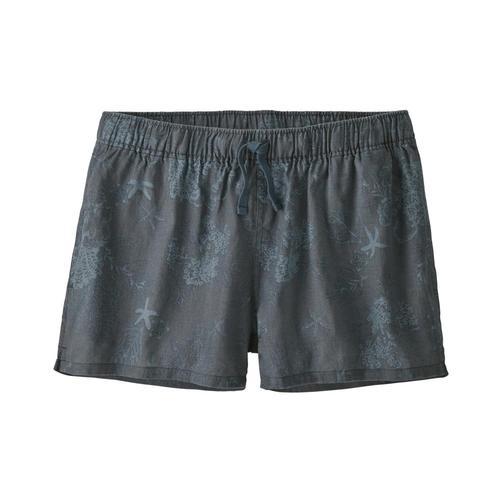 Patagonia Women's Island Hemp Baggies Shorts Pgrey_ccgy