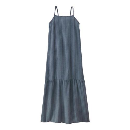 Patagonia Women's Garden Island Tiered Dress Pgrey_bpgy