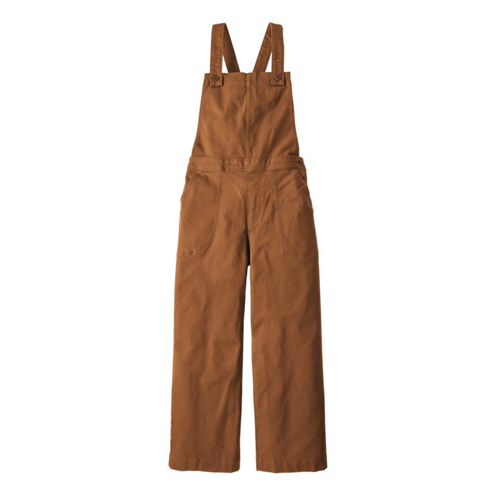 Patagonia Women's Stand Up Cropped Overalls BROWN_UMBR
