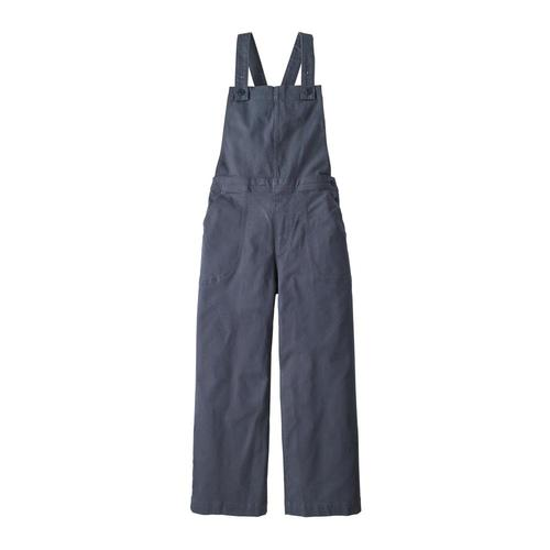 Patagonia Women's Stand Up Cropped Overalls Sblue_smbd