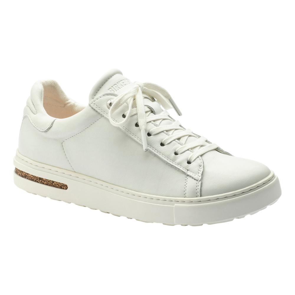 Birkenstock Women's Bend Leather Shoes - Narrow WHITE.LTH
