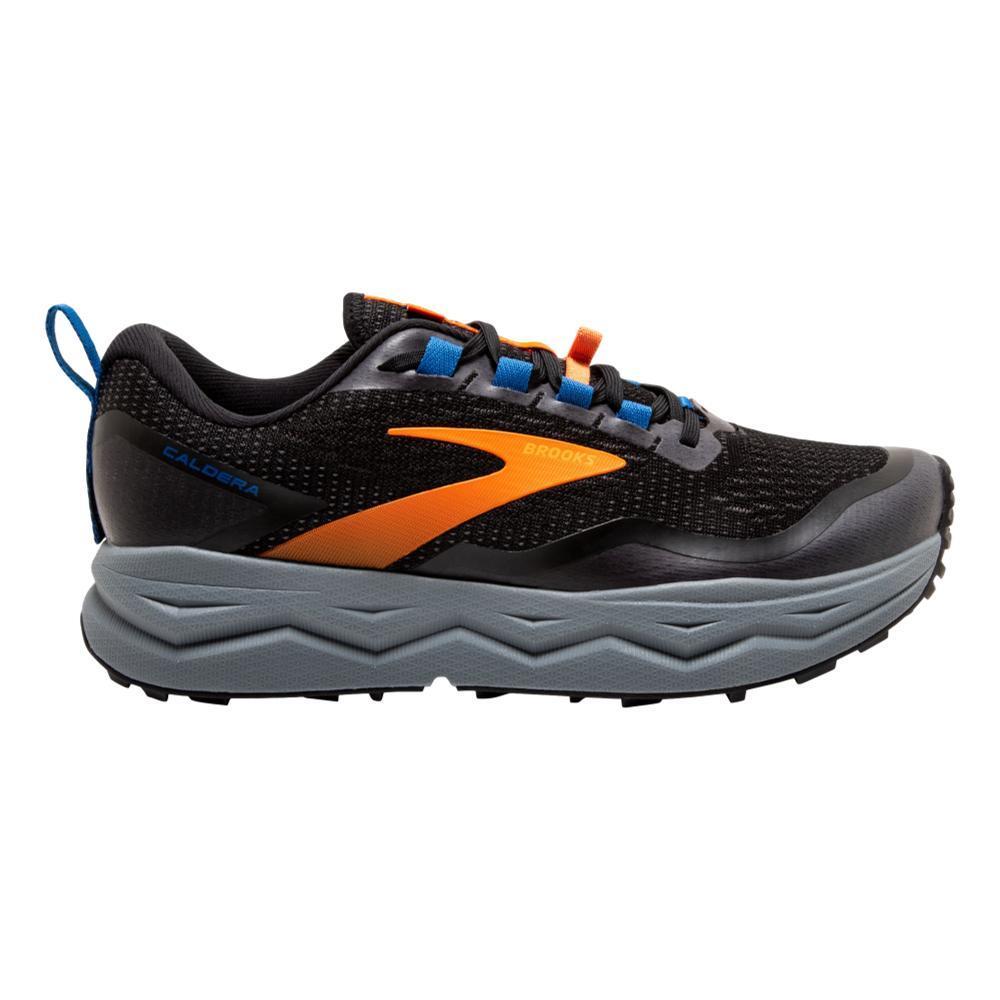 Brooks Men's Caldera 5 Trail Running Shoes BLK.ORG.BLU_041