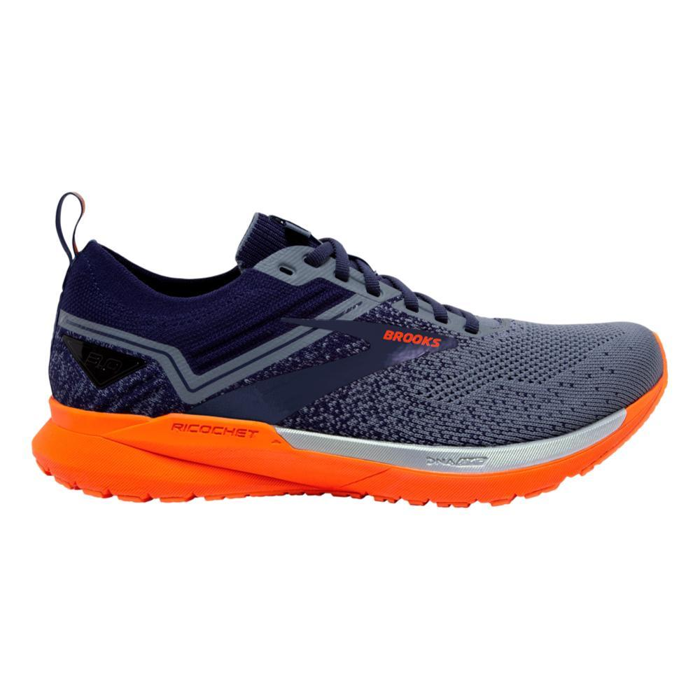 Brooks Men's Ricochet 3 Road Running Shoes NVY.GRY.SCL_430