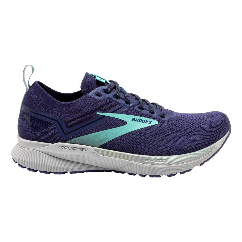 Brooks Women's Ricochet 3 Road Running Shoes PCOT.RBN.BLU_462