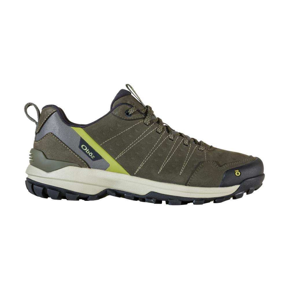 Oboz Men's Sypes Low Leather Waterproof Hiking Shoes LODEN