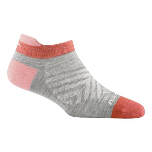 Darn Tough Women's Merino Wool Run No Show Tab Ultra Lightweight Running Socks Ash