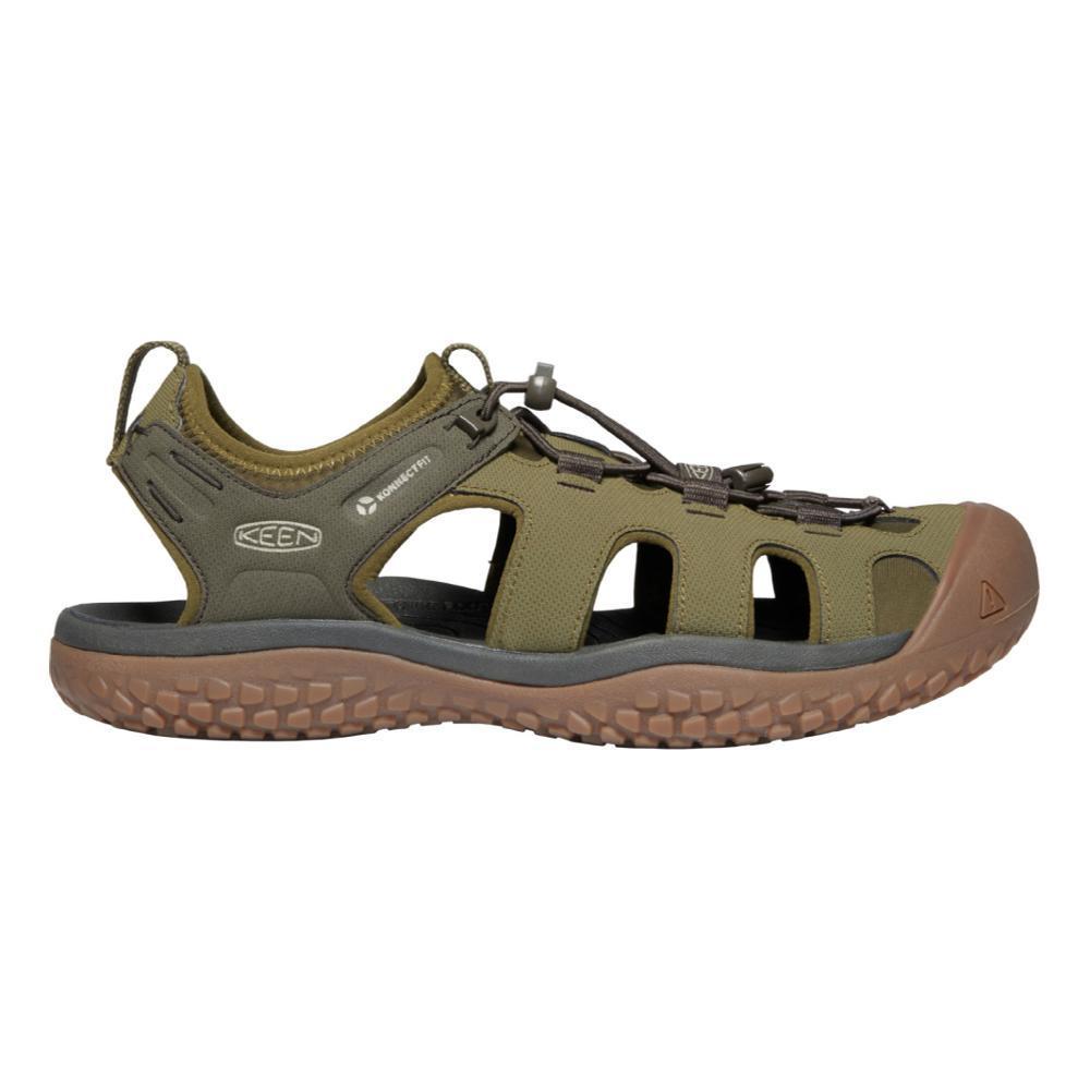 KEEN Men's SOLR Sandals DKOLIVE