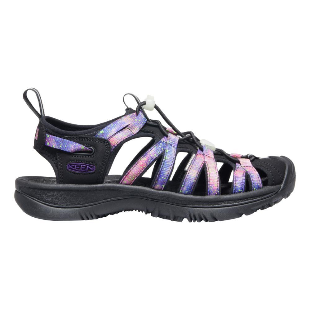 KEEN Women's Whisper Sandals BLK.PURP