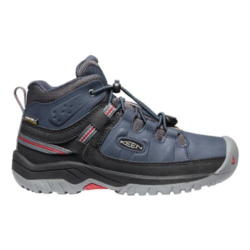 KEEN Youth Targhee Mid Waterproof Hiking Boots Blunights