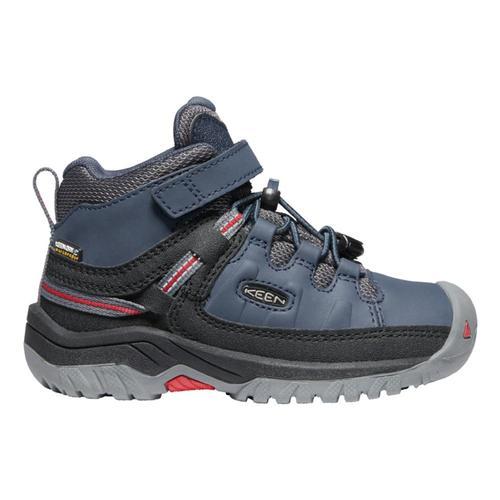 KEEN Kids Targhee Mid Waterproof Hiking Boots Blunights