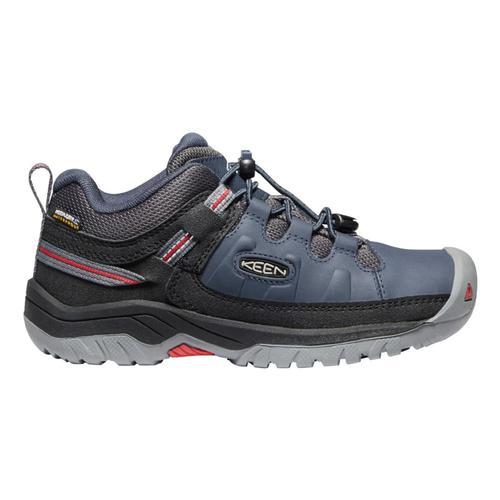 KEEN Youth Targhee Low Waterproof Hiking Shoes Blunights