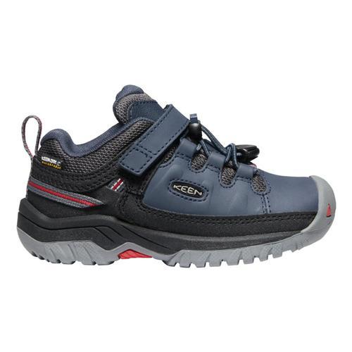 KEEN Kids Targhee Low Waterproof Hiking Shoes Blunights