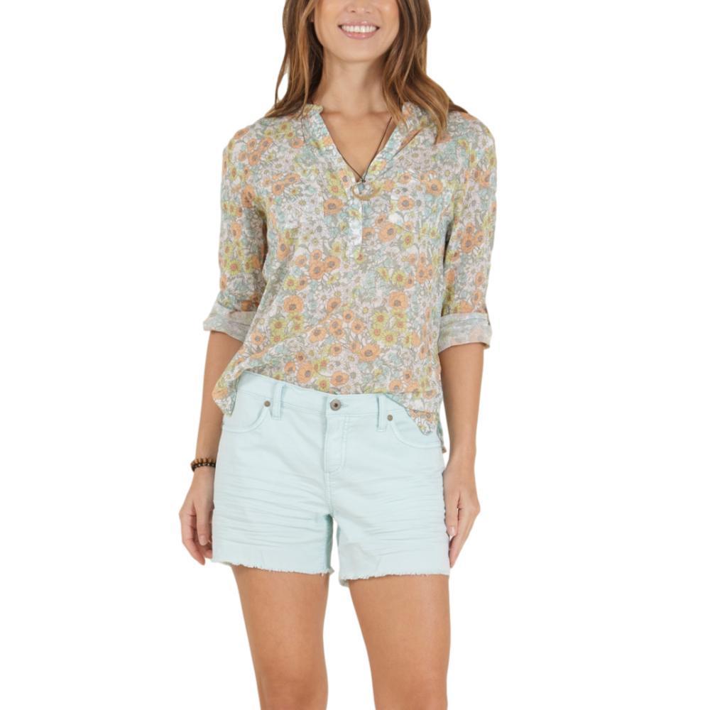 Carve Designs Women's Dylan Gauze Shirt CLOUDPOPPY_899