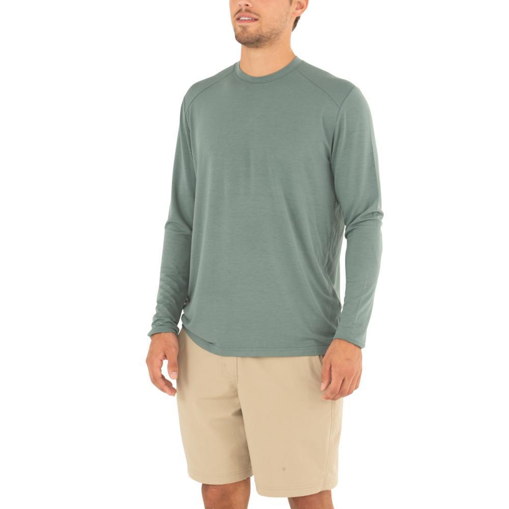 Free Fly Men's Bamboo Midweight Long Sleeve Shirt JUNIPER111