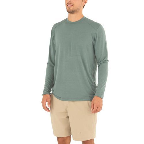 Free Fly Men's Midweight Long Sleeve Shirt Juniper111