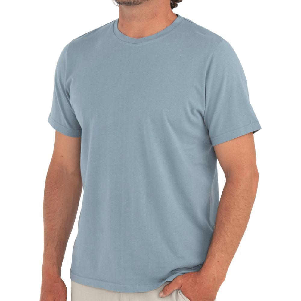 Free Fly Men's Bamboo Heritage Tee BLUE103