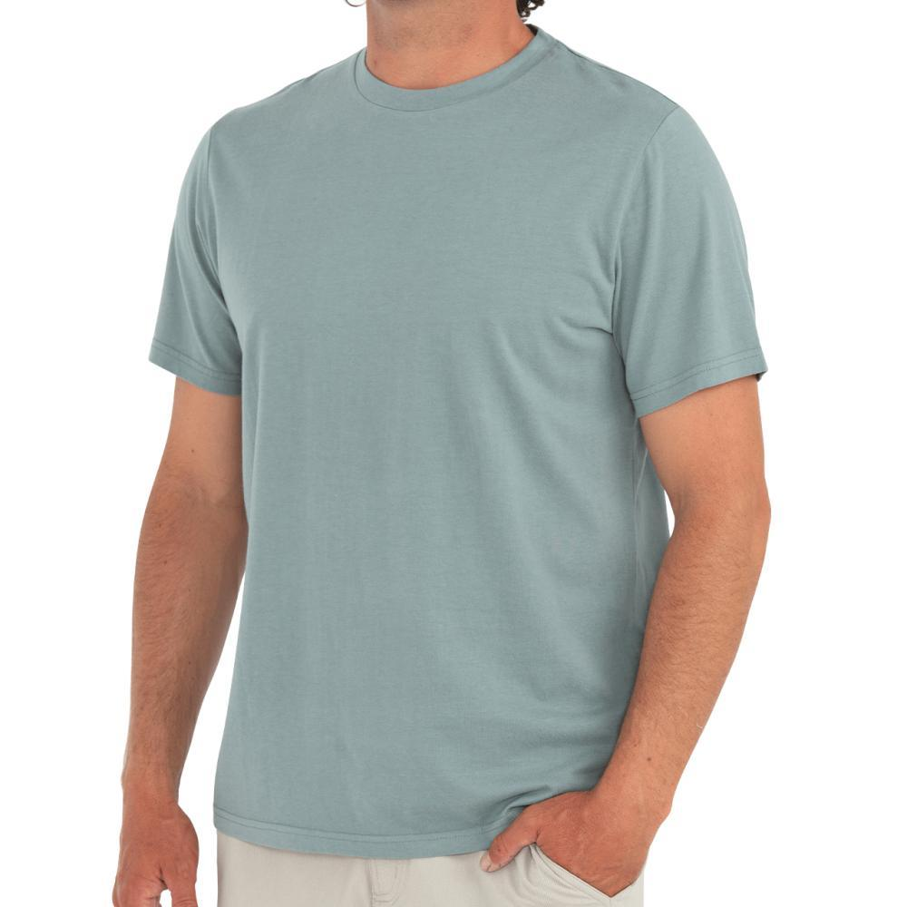 Free Fly Men's Bamboo Heritage Tee GREEN102