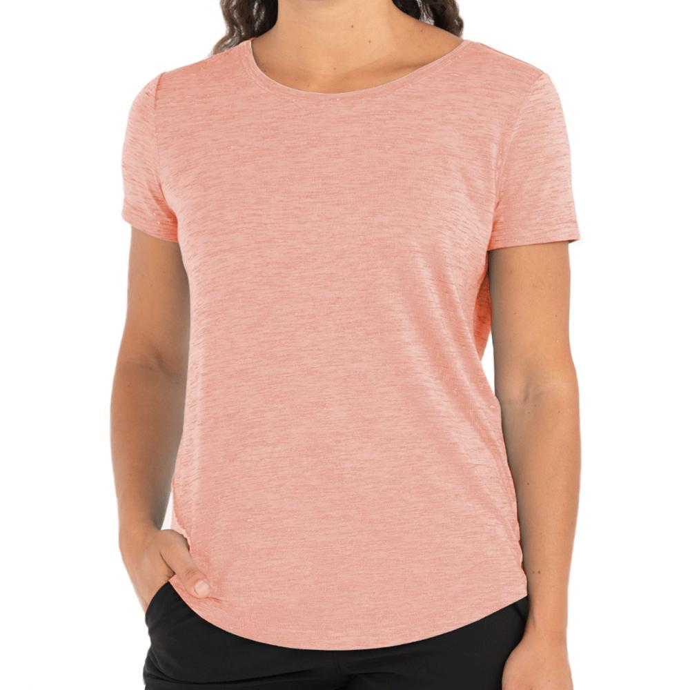 Free Fly Women's Bamboo Current Tee ORANGEDUSK_103