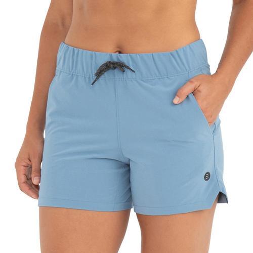 Free Fly Women's Swell Shorts Bluereef_103