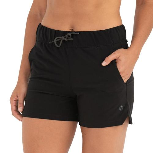 Free Fly Women's Bamboo-Lined Breeze Shorts Black_101