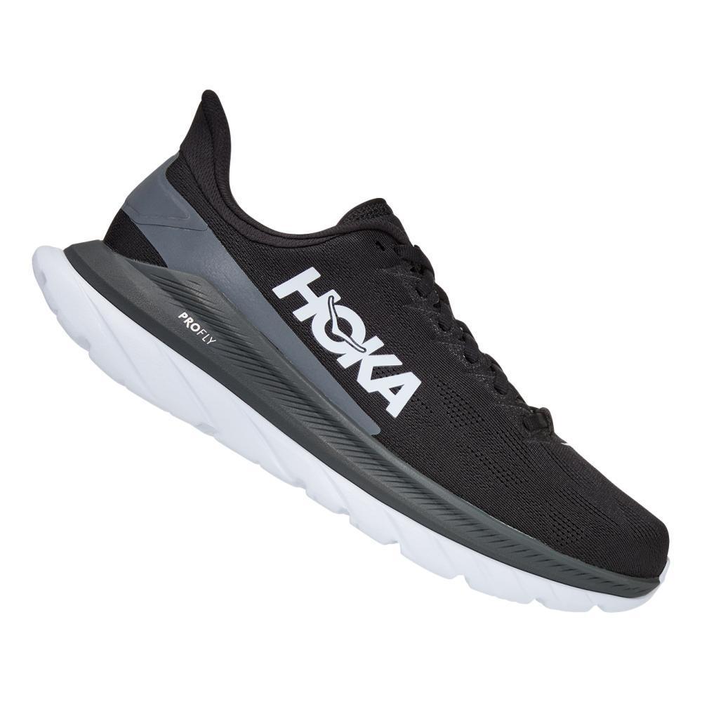 HOKA ONE ONE Men's Mach 4 Running Shoes BLK.DSHD_BDSD