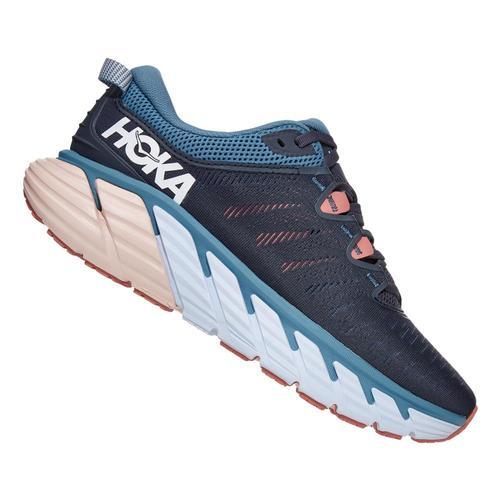 HOKA ONE ONE Women's Gaviota 3 Running Shoes Omblu.Ros_obrs